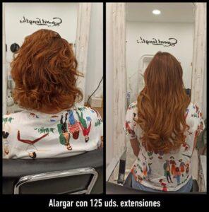 extensiones de pelo en Peluquería Equipos