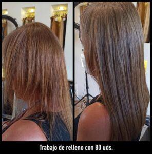 volumen de pelo en Peluquería Equipos