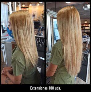 trabajos extensiones de pelo